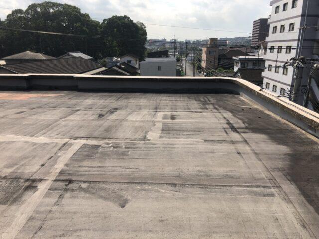 屋上防水 ビフォー