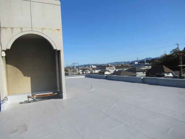 屋上防水 アフター